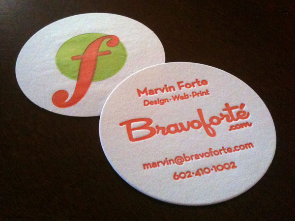 Bravoforté Business Cards